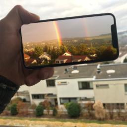 iPhoneXRainbow